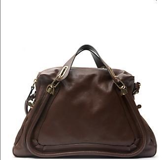 Chloe Large Paraty Brown Handbag $1995