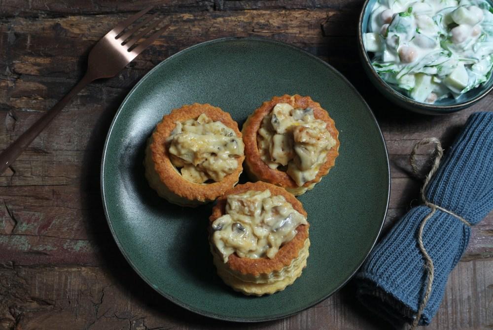 Veggie Ragou Fin mit Feldsalat