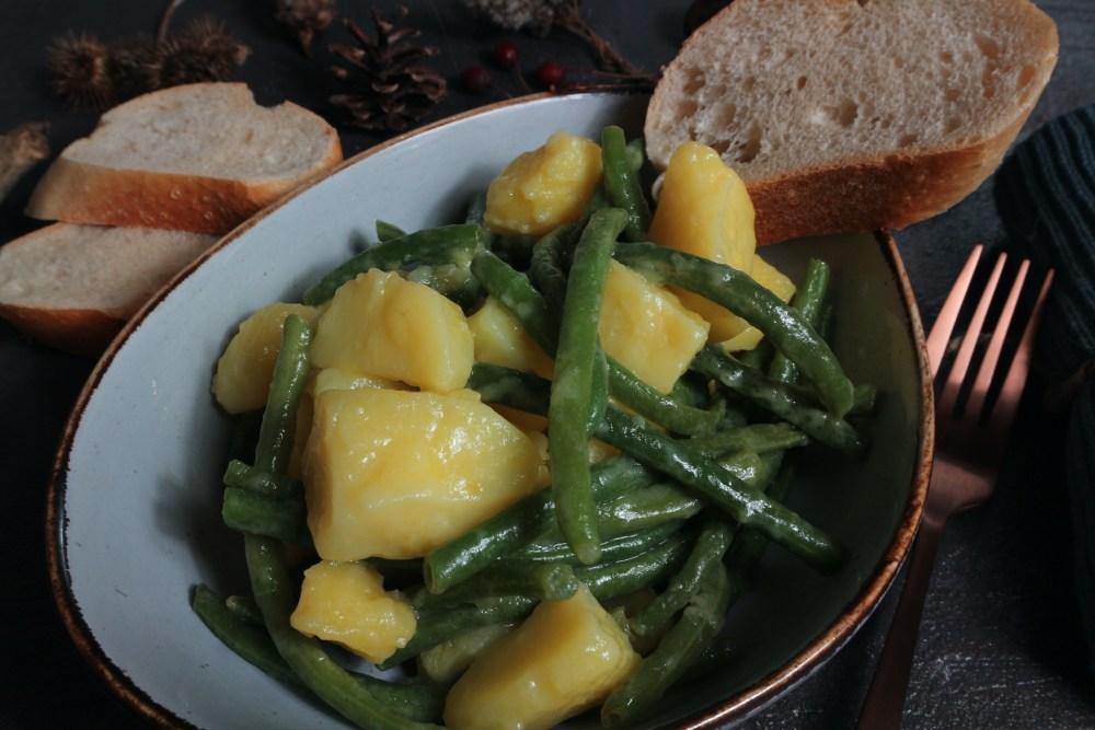Kartoffel-Bohnen Salat