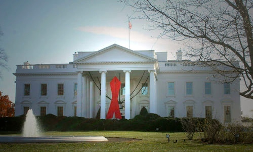 White House World AIDS Day 2