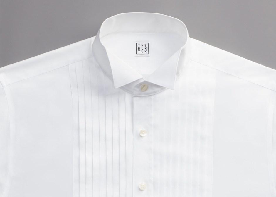 Tuxedo shirt bibs.