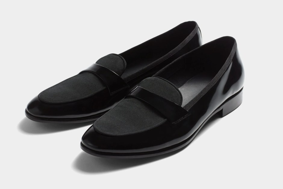 Loafers for tuxedo shoes.