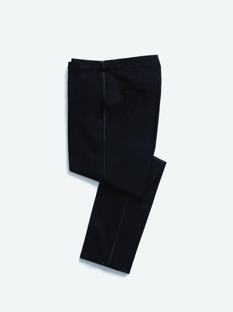 Tuxedo pants.
