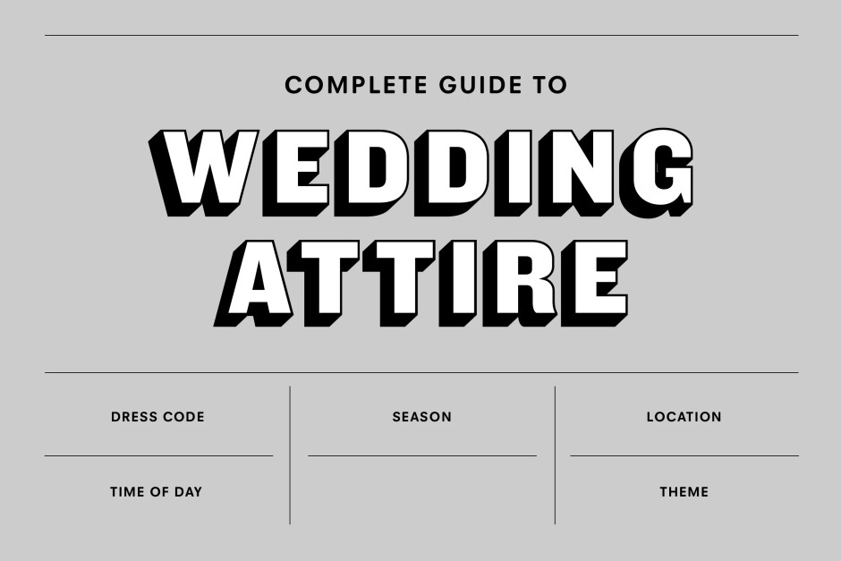Men's Wedding Attire: The Complete Guide for 2021