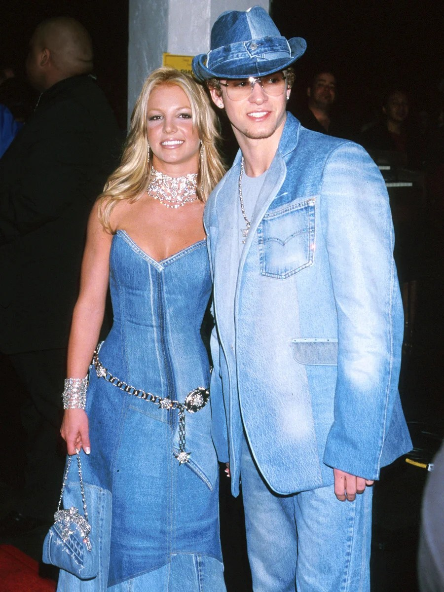The worst idea is matching denim outfits, as worn by Britney Spears and Justin Timberlake.
