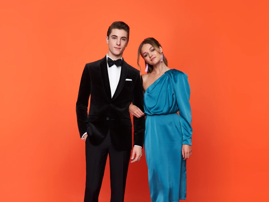 Our velvet jacket tuxedo, just one of our many prom tux ideas for 2018.