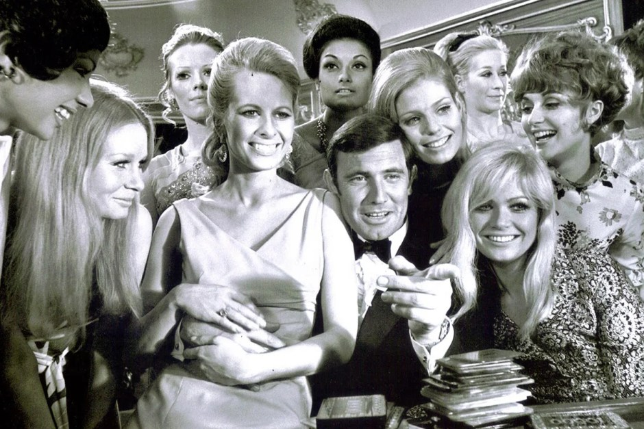 On Her Majesty's Secret Service, one of our best movie weddings.