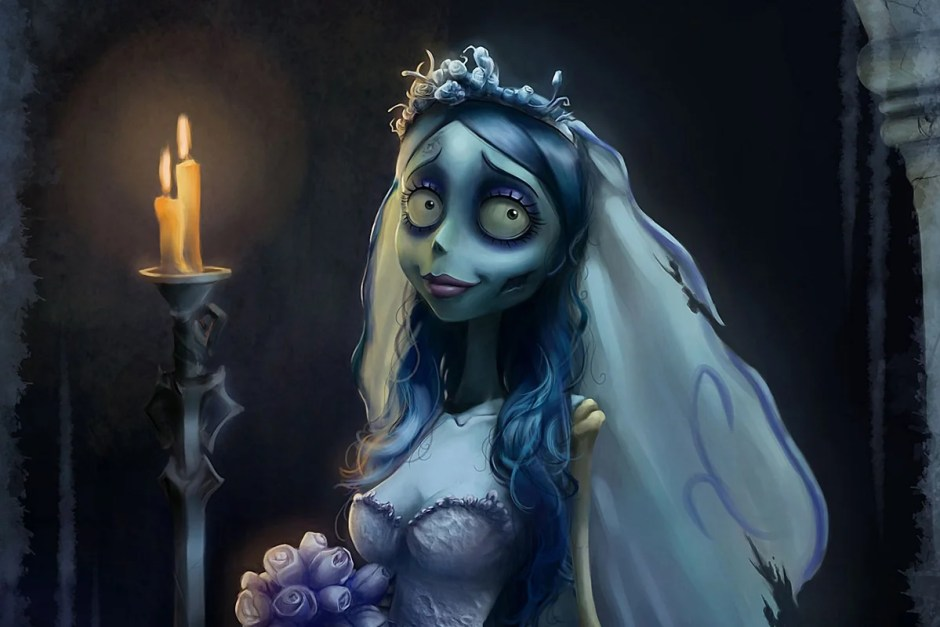 The Bride is waiting for her groom in Corpse Bride.