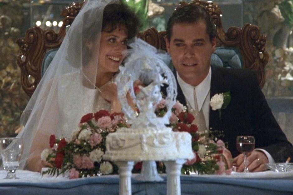 Wedding cake in Goodfellas.