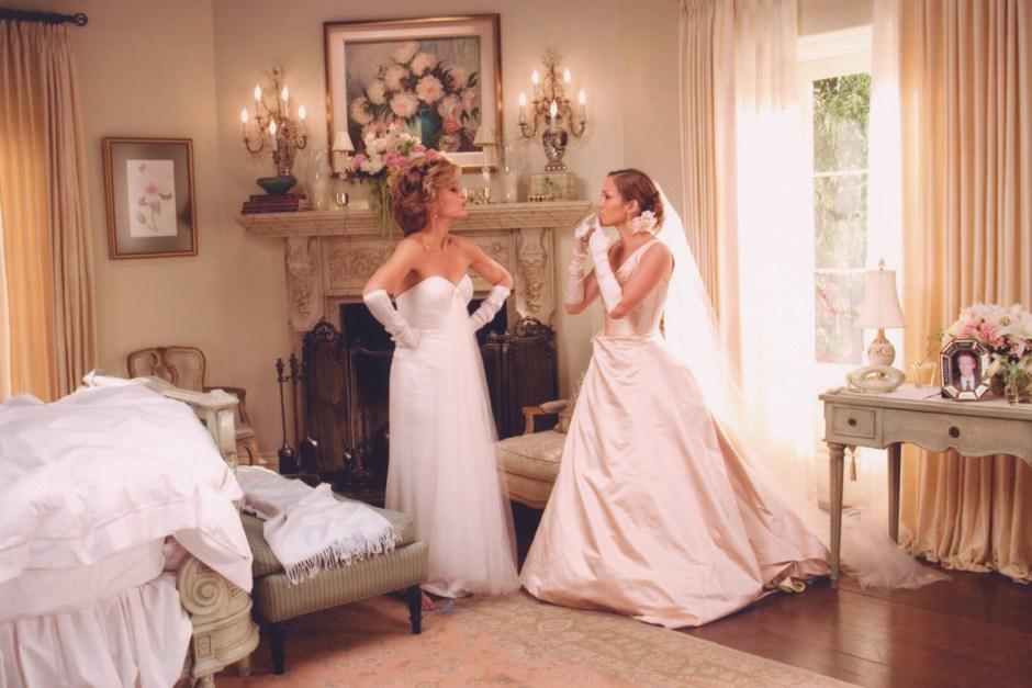 Wedding scene from Monster In Law.