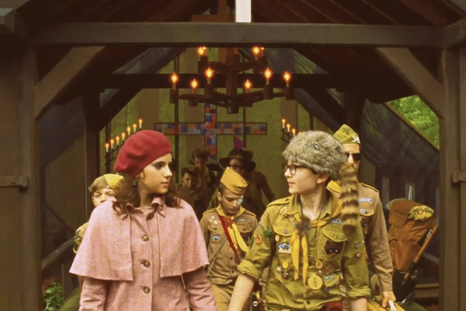 Scout wedding from Moonrise Kingdom.