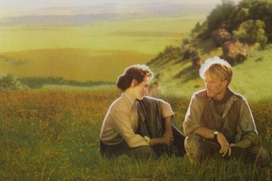 Meryl Streep and Robert Redford in Out of Africa.