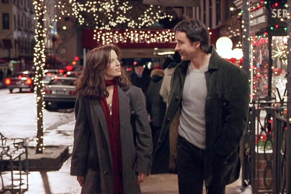Kate Beckinsale and John Cusack in Serendipity.