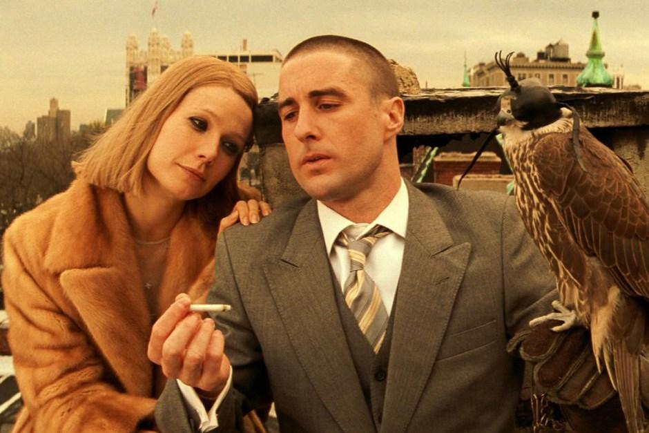 Luke Wilson and Gwyneth Paltrow in The Royal Tenenbaums.