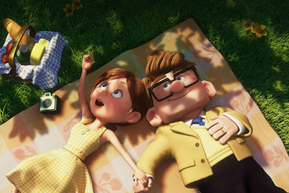Picnic in Up montage.