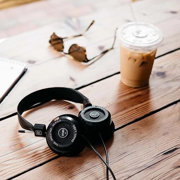 Grado Labs sr80e headphones.
