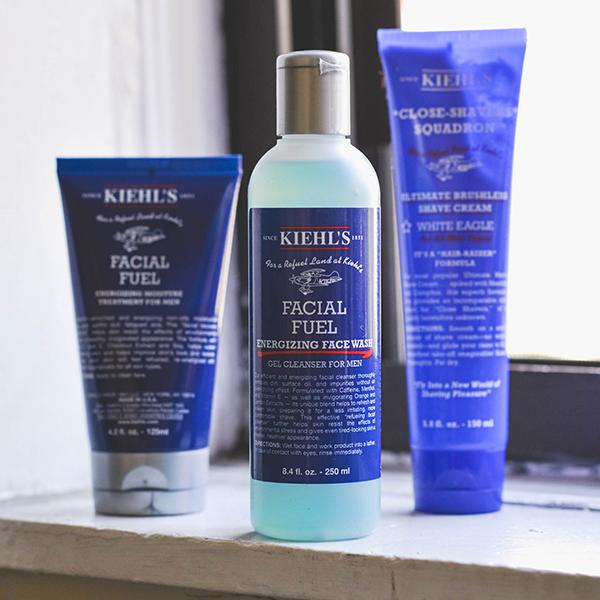 Kiehl's men's products.