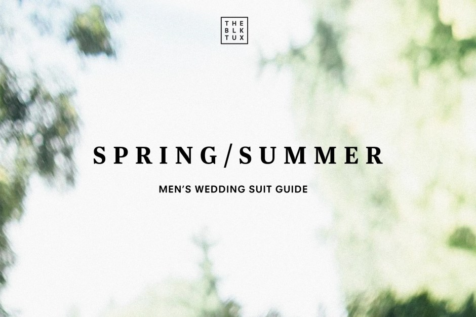 The Black Tux Mens Summer Wedding Attire Guide for 2020