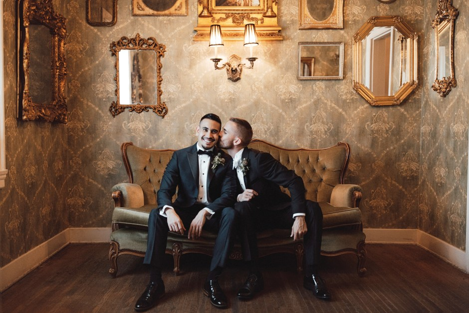 Couple shares gay wedding ideas
