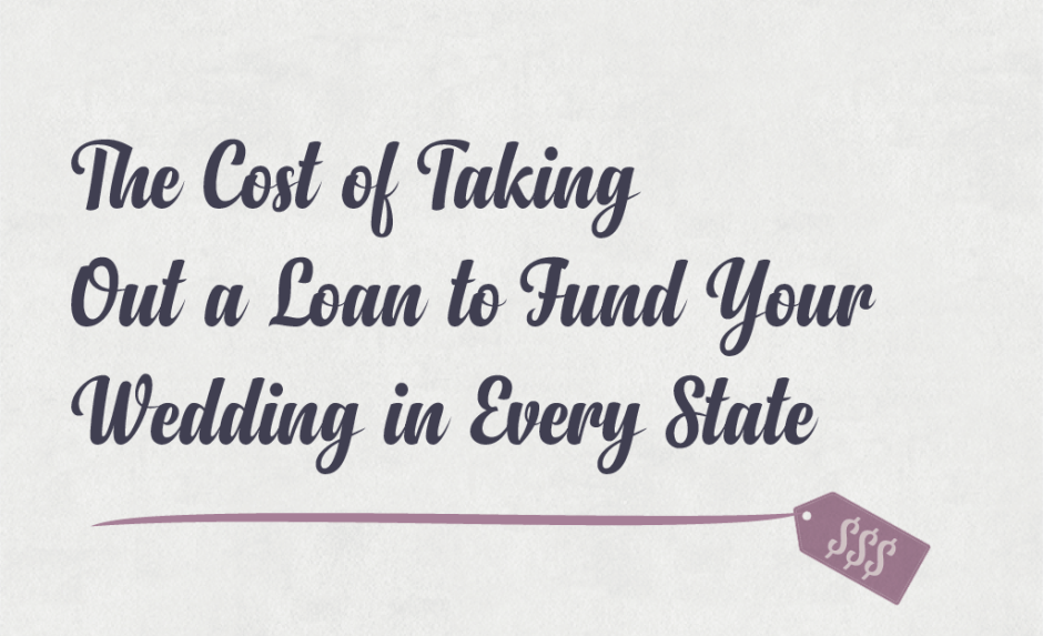 Title image for the cost of taking out a wedding loan
