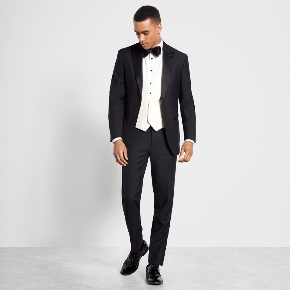 classic black tie dress code