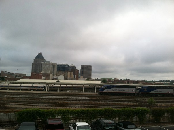 Amtrak's Piedmont Arrives from Raleigh