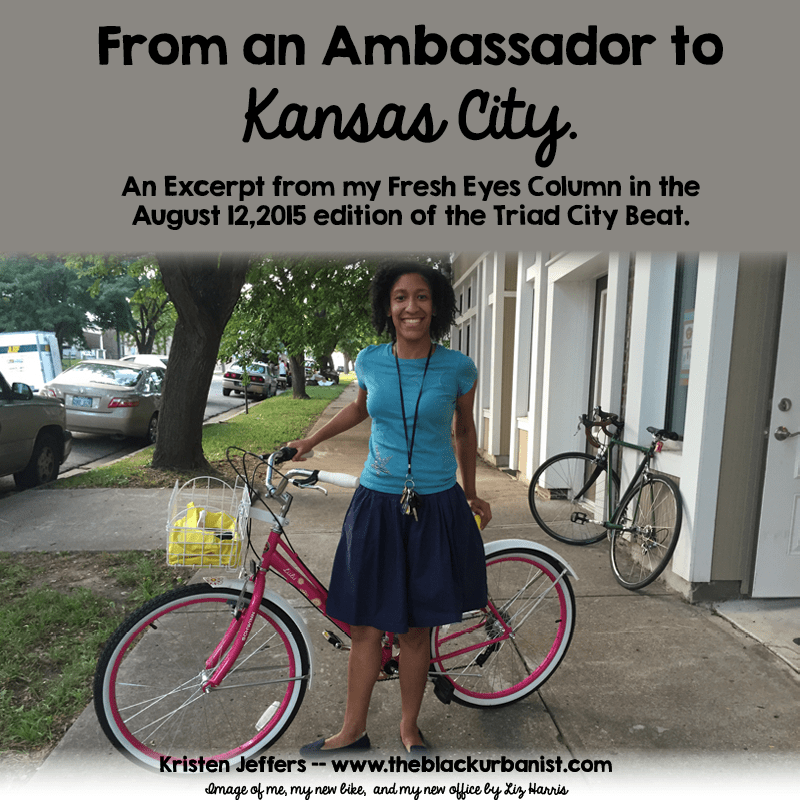 From an Ambassador to Kansas City