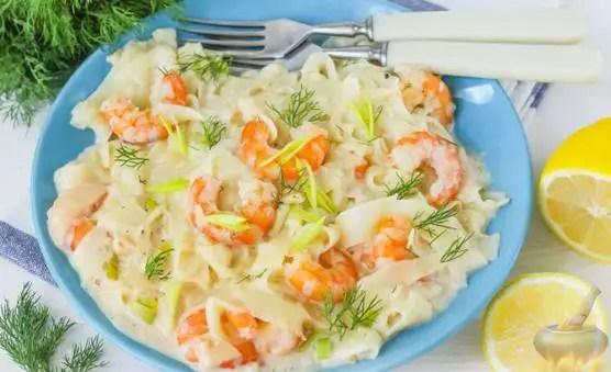 Shrimp paste in cream sauce-Healthy shrimp recipes