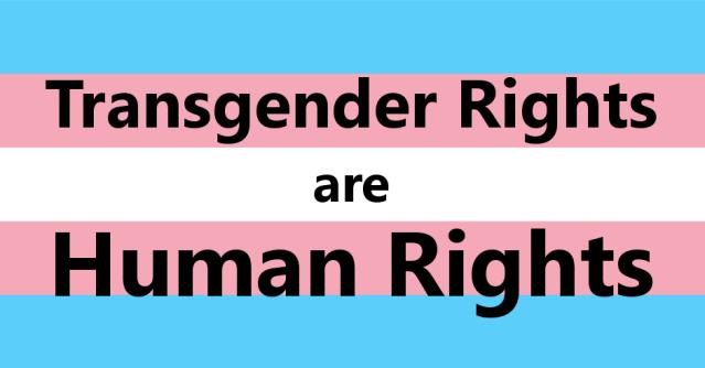 trans rights FB image
