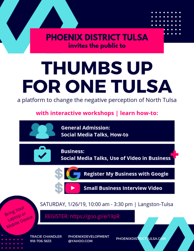 Thumbs Up For One Tulsa Flyer