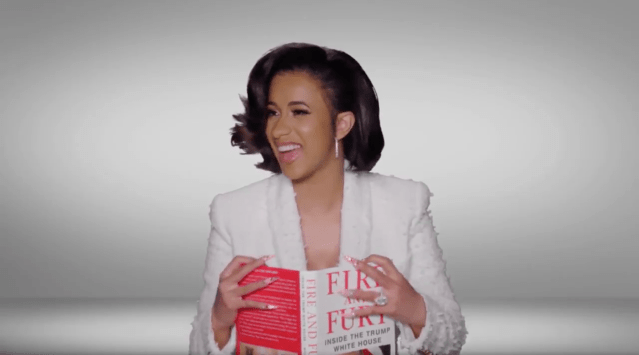 cardi b grammys fire and fury