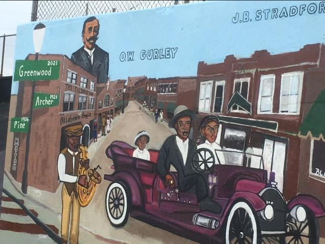 Black Wall Street Mural