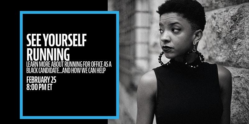 Black candidate webinar
