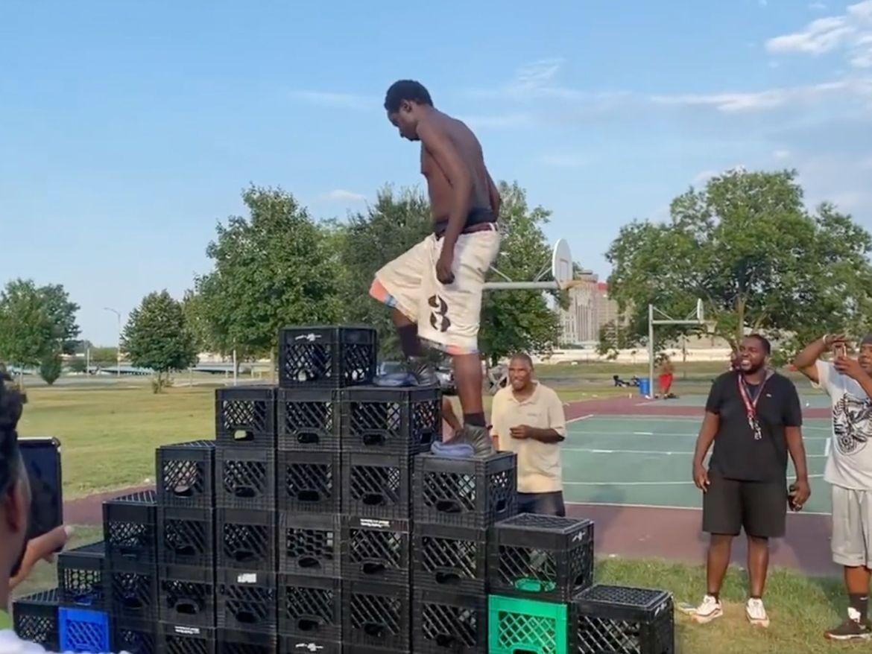 black crate challenge