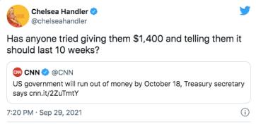 Chelsea Handler tweet