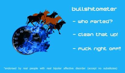 tribal wisdom: the bipolar bullshitometer™