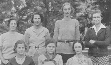The Nineteen Thirty Four Vassarion. 1934. Senior Class, Vassar College. Poughkeepsie, NY. Page 103.