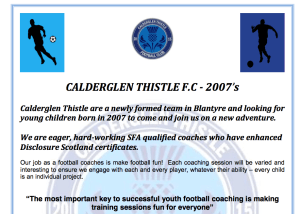 Calderglen Thistle Football Club