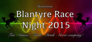 Blantyre Race Night 2015