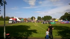 High Blantyre Gala Day, crowds arrive 5th Sept 2015
