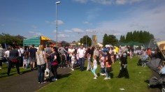 High Blantyre Gala Day 5th Sept crowds (PV)