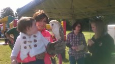 High Blantyre Gala Day 5th Sept Owls for children (PV)