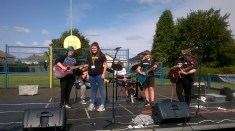 High Blantyre Gala Day 5th Sept Hyper Cyber Guitar Players (PV)