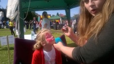 High Blantyre Gala Day 5th Sept Face Painting fun (PV)