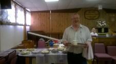 Steve at High Blantyre Baptist Church (Home Baking)