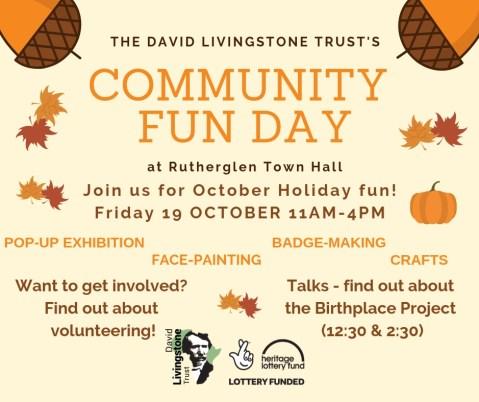 Community Fun Day - David Livingstone Birthplace Project