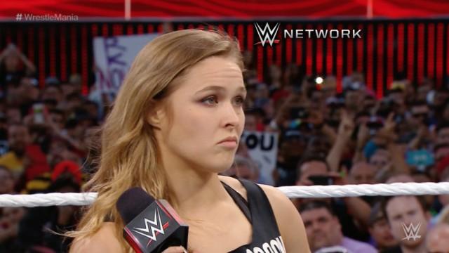 ` Di Ronda Rousey definitivamente che ritorna a WWE
