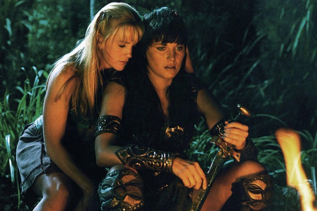 Xena e Gabrielle confermati per essere ` in lesbiche a vicenda nel ` Xena: Principessa ripartenza del guerriero