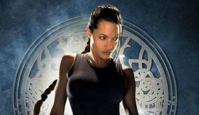 Angelina Jolie realmente, realmente carente ruolo di quel Tomb Raider del `