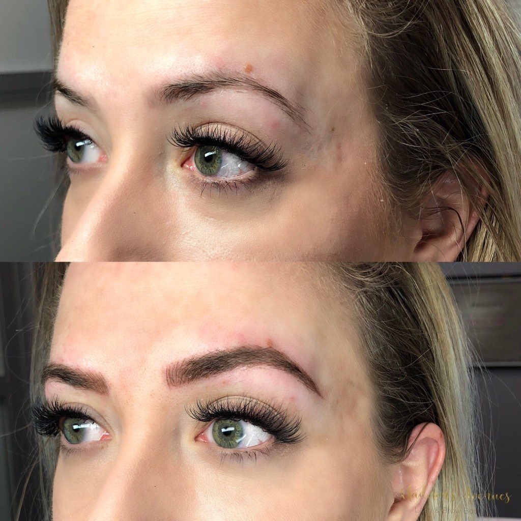 microblading, brows, microbladed, lashes, extensions
